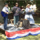 Performers entertained the crowd with period music at James A. Garfield National Historic Site's eighth annual Civil War encampment weekend. NPS photo by Todd Arrington.